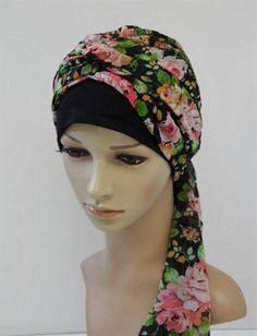 Summer head wear turban snood bad hair day scarf volume