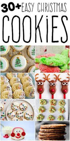 fun christmas cookies Weihnachtspltzchen I am always on the hunt for easy Christmas cookie recipes, because I spend most of the holiday season baking for one get-together or party. Its just so much fun! Easy Christmas Cookie Recipes, Christmas Cookie Exchange, Holiday Snacks, Delicious Cookie Recipes, Holiday Cookies, Christmas Desserts, Christmas Treats, Holiday Recipes, Easy Recipes