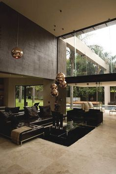 here are a 25 Luxury Homes Interior Design & Inspiration where people been able to understand some of their greatest home design fantasies. Modern Interior, Home Interior Design, Interior Architecture, Gold Interior, Modern Luxury, Best Home Design, Building Architecture, Living Room Designs, Living Room Decor