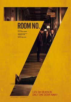 7호실 Room No.7 / 한국 Korea / 2017 / 이용승 / 2017. 개봉    design : 박동우 Park dong woo  photo : 오형근  p.r : 엔드크레딧  client : Lotte Entertainment  print : (주)대경토탈