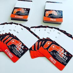 An awesome Virtual Reality pic! Last steps - name badges! #LAGames16 #badges #lanyard #conference #gaming #videogames #gamer #vr #virtualreality #tech #events #eventplanner #losangeles #hollywood #work by jakubrobert check us out: http://bit.ly/1KyLetq