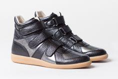 Maison Martin Margiela Metallic Crackle Sneaker