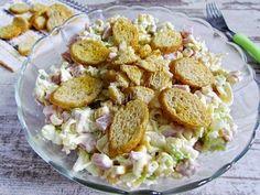 Шустрый повар.: Салат из пекинской капусты с сухариками