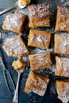Homemade Gooey Butter Cake recipe