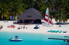 Ocean water sports at Kuredu Island Resort Maldives,  for more details visit www.voyagewave.com