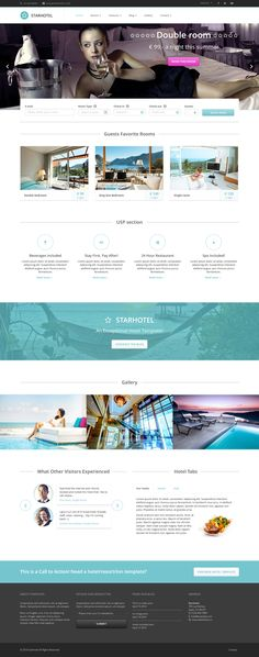 Starhotel is a #responsive HTML5/CSS/jQuery site #template #Bootstrap 3.0. It's not just suitable for #hotels, but also for #resorts, #bed and #breakfasts, #hostels, #motels, #spa's and so on.  #website #design