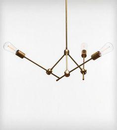 PRITI Brass Light Fixture