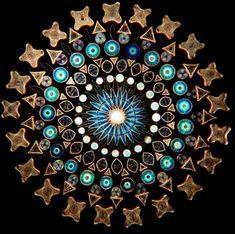Arrangements artistiques de Diatomées par Klaus Kemp (2)
