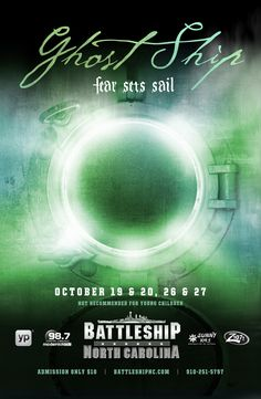 Looking for something fun to do for Halloween? Why not visit the Ghost Ship? This is always a fun event.