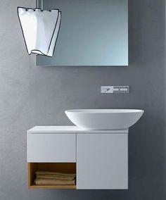 Via Veneto, Minimalist Bathroom Furniture by Gunni & Trentino for Falper
