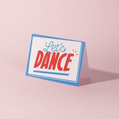 Send a FREE Valentine's Day card on us! 'Let's Dance' design by Crispin Finn for Not Another Bill. | Pinterest: Natalia Escaño