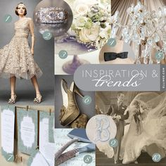 Mood Board Monday: Vintage Wedding Invitations