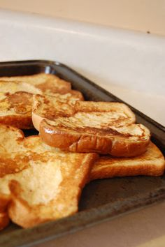 Table for 7: Easy French Toast