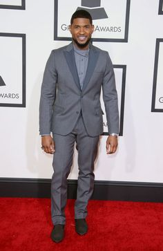 GRAMMY winner Usher at the 57th Annual Grammy Awards in 2015.