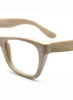 b6771840b5 handmade bamboo wayfarer glasses frame 1055 co1