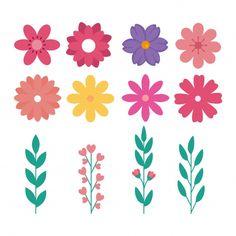 Watercolor Flower Background, Floral Watercolor, Watercolor Leaves, Leaves Doodle, Floral Vintage, Wreath Drawing, Botanical Flowers, Vector Flowers, Flower Doodles