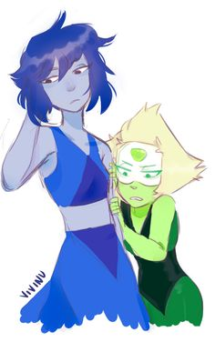 "vivinu: ""i hope peri makes it a habit to cling to lapis """