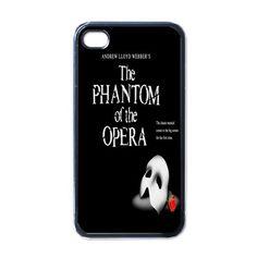 Apple iPhone Case - The Phantom of the Opera Musical - iPhone 4 Case #iphone4 #Case #cover #Phantomoftheopera