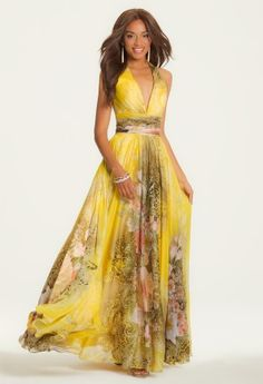 Fashion Tips Outfits Printed Chiffon Halter Dress.Fashion Tips Outfits Printed Chiffon Halter Dress Prom Dresses 2015, Prom Dresses Online, Evening Dresses, Summer Dresses, Elegant Dresses, Beautiful Dresses, Flowing Dresses, Camille, Print Chiffon