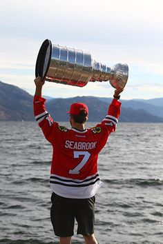 Seabrook's Cup day in B.C. - 08/31/2013 - Chicago Blackhawks - Player Appearances & Events Photo Gallery