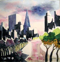 Artwork >> Schluck Francis >> my tropisms in San Francisco