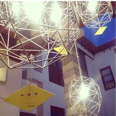 Modest Genius for ecru Gem Lights.  A handful still available.  If interested please contact hussah@ecruonline.com #ecru #modestgenius #lanterns #popup To see more of Deborah Difore's designs, follow @modestgeniusdesign