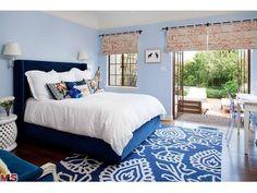 Spanish style – Mediterranean Home Decor Dream Bedroom, Master Bedroom, Blue Bedroom Decor, Spanish Style Homes, Spanish Colonial, Mediterranean Home Decor, Bedroom Images, Classic Home Decor, Pretty Room