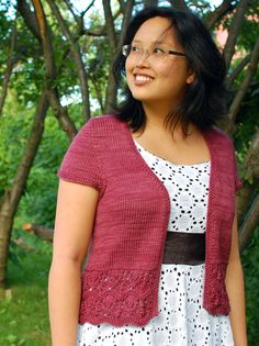 Laura Chau - love this lady's designs!!!! Bellevue Cardigan Worsted Weight - $7 -