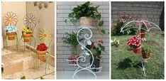 Va plac florile in ghivece? Priviti aici 20 de idei practice de suporturi pentru ele  Ce altceva putem face in astfel de zile geroase decat sa stam la caldura si sa urmarim un articol, precum cel