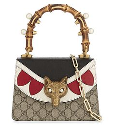 GUCCI . #gucci #bags #shoulder bags #hand bags #canvas #leather #