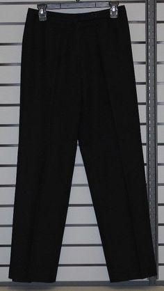 70a547a3d9598 Evan-Picone Wool Pants Women s size 12 Black  fashion  clothing  shoes
