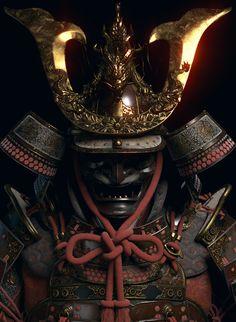 Samurai Tattoo, Hannya Samurai, Kabuto Samurai, Samurai Weapons, Samurai Helmet, Samurai Warrior, Japanese Art Samurai, Japanese Warrior, Hanya Tattoo