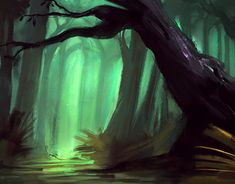 "Check out new work on my @Behance portfolio: ""the greeny forest sketch"" http://be.net/gallery/67707587/the-greeny-forest-sketch"