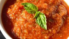 Fresh tomatoes slowly cook with onion, green pepper, garlic, and red wine in this rich, flavorful sauce.