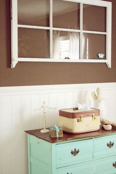 faux window for basement room?