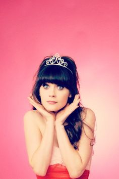 Zooey Deschanel. Watch her in: New Girl, Failure to Launch, The Happening, Eulogy