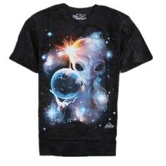 The Mountain Big Face Animals 3D T-Shirts Short Sleeves - Alien - Shipping Cap Promotion- - TopBuy.com.au