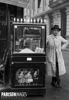 Machine à pop-corn. Paris, 1922.