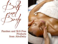 Bath & Body Products at AfroDeity