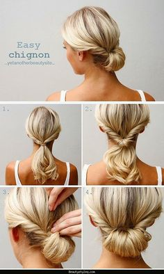 Cute easy hairstyles - http://beautystyleq.com/cute-easy-hairstyles.html