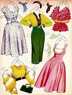 barbar britton paper doll | Uploaded to Pinterest
