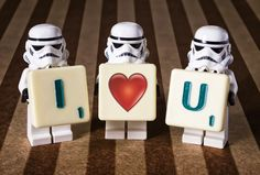 Lego Star Wars Love Valentine #Stormtrooper Love