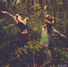 Mushrooms...we're lost...we don't care...lets dance!