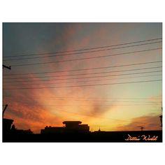 Amazing #sunset in #pakistan #lahore