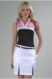 GG Blue Ladies Golf Delicate Beauty Collection Par Skort Women's Golf Skort GG-K630   PinksandGreens.com