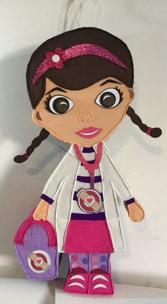 Doc McStuffins Pinata. Inspired. Doc. McmStuffins by aldimyshop