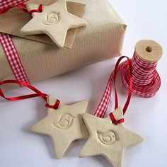 Three Christmas Bird Stars