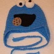Blue Monster Hat - via @Craftsy