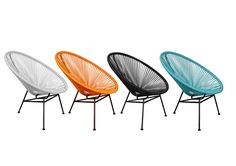 Replica Acapulco Chairs, buy online for $399 per set of 2 chairs and side table. Delivered free to most of Australia.