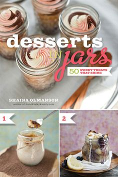Desserts in Jars {Book Review + Recipes!} @HWTM